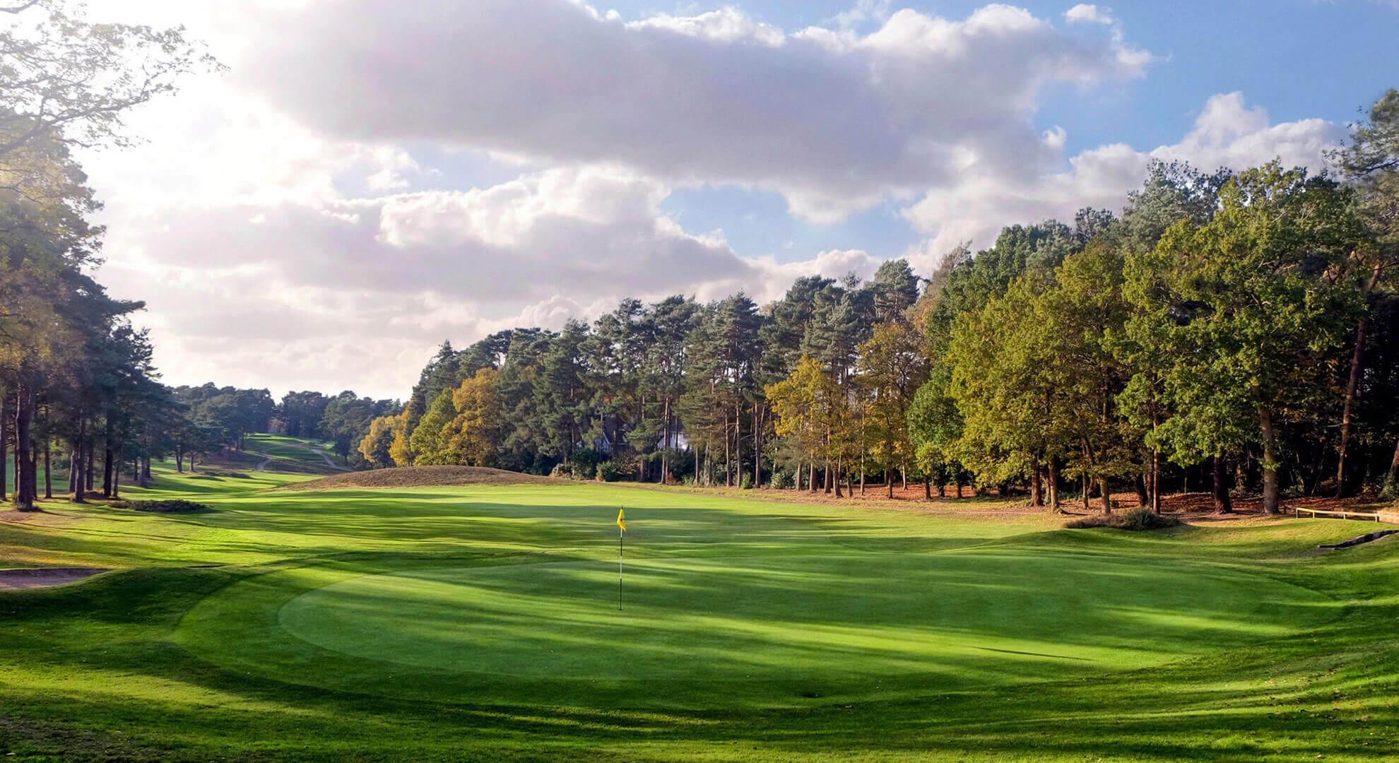 Camberley Heath Golf Course, South East England