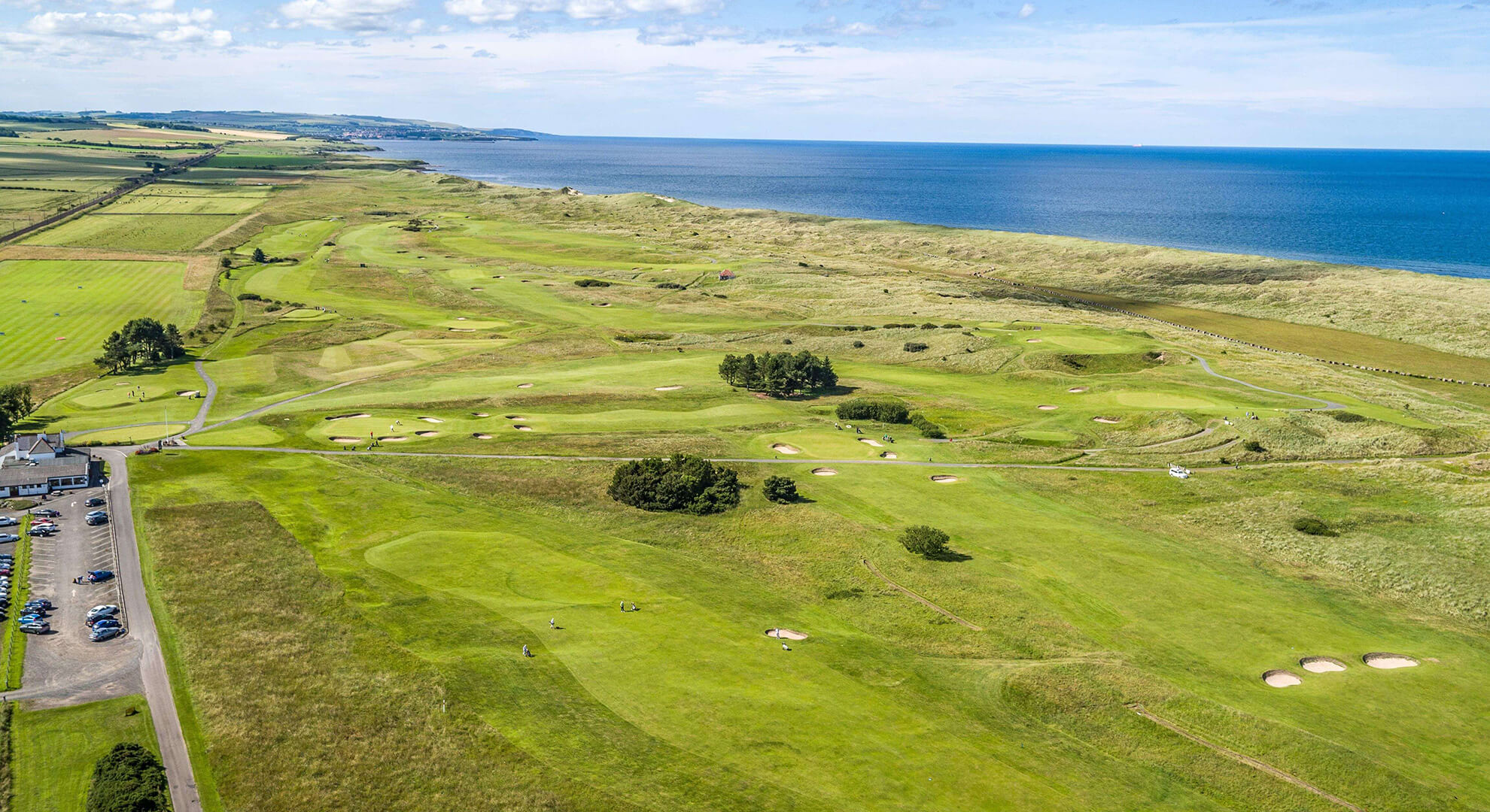 Goswick Golf Course, North East England