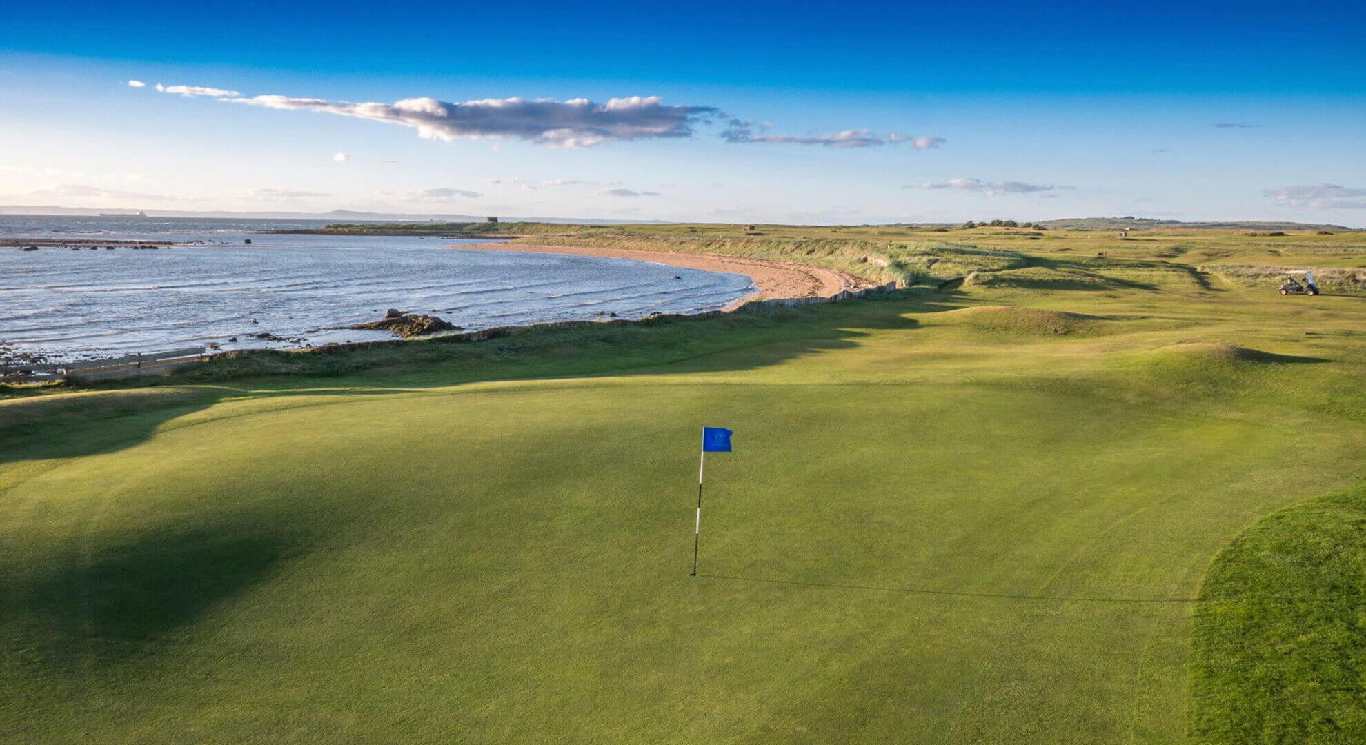 Kilspindie Golf Course, East Lothian, Scotland