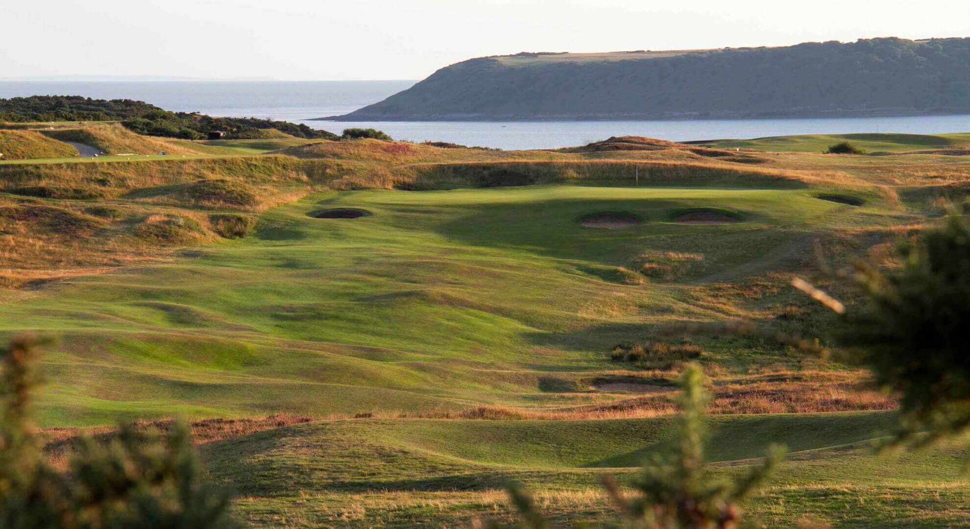 Pennard Golf Course, Wales