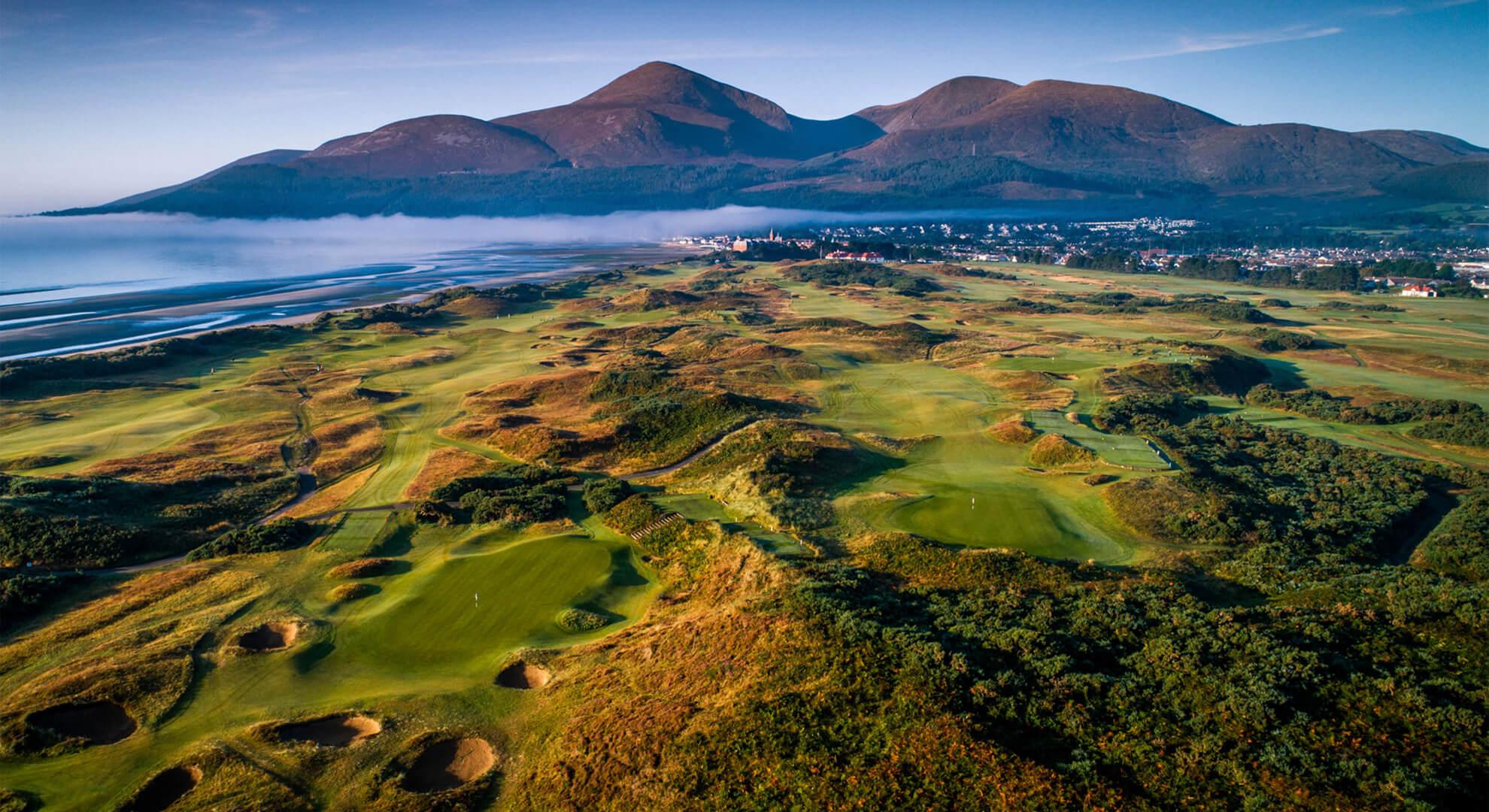 Royal County Down Golf Course, Dublin, Ireland