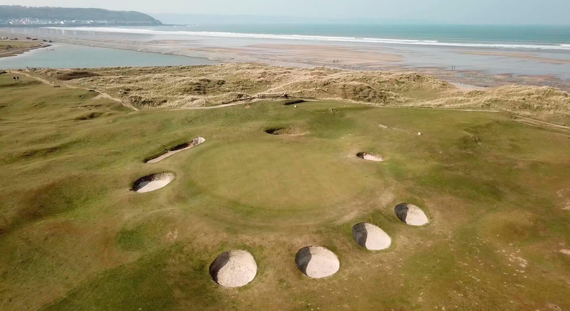 Royal North Devon Golf Course, South West England