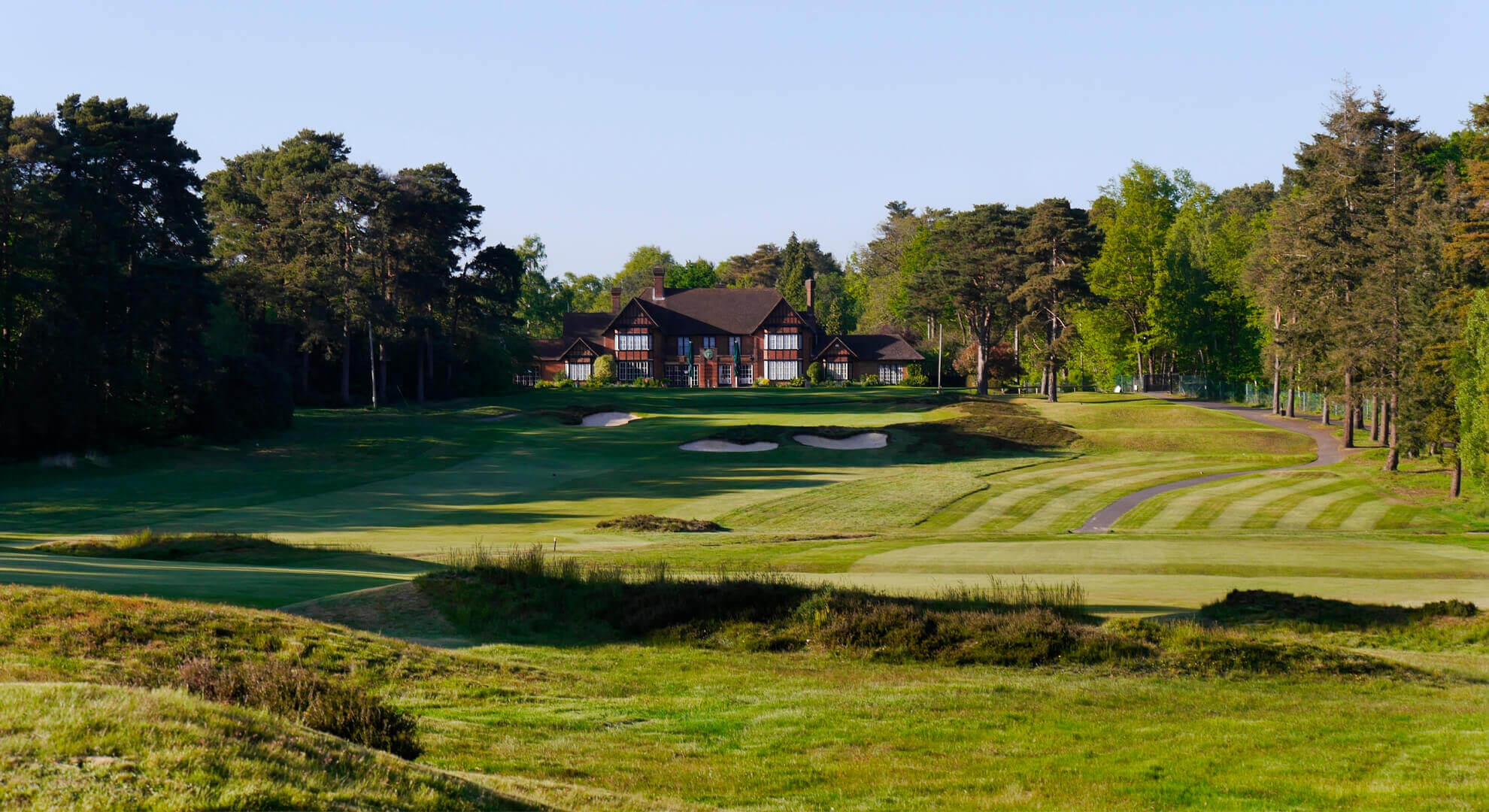 Swinley Forest Golf Course, South East England