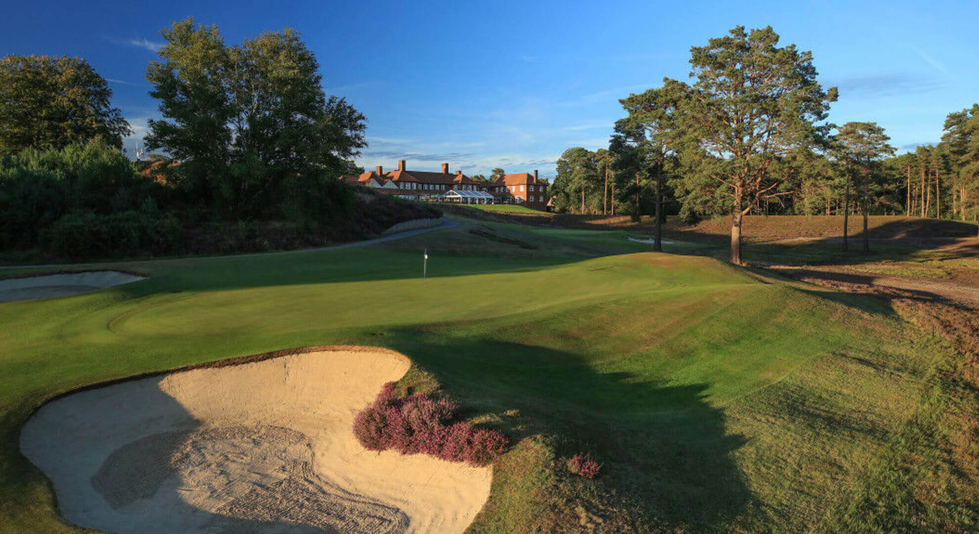 The Berkshire Blue Golf Course, South East England