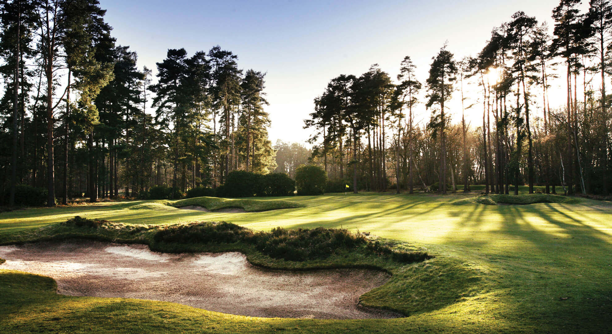 West Hill Golf Course, South East England