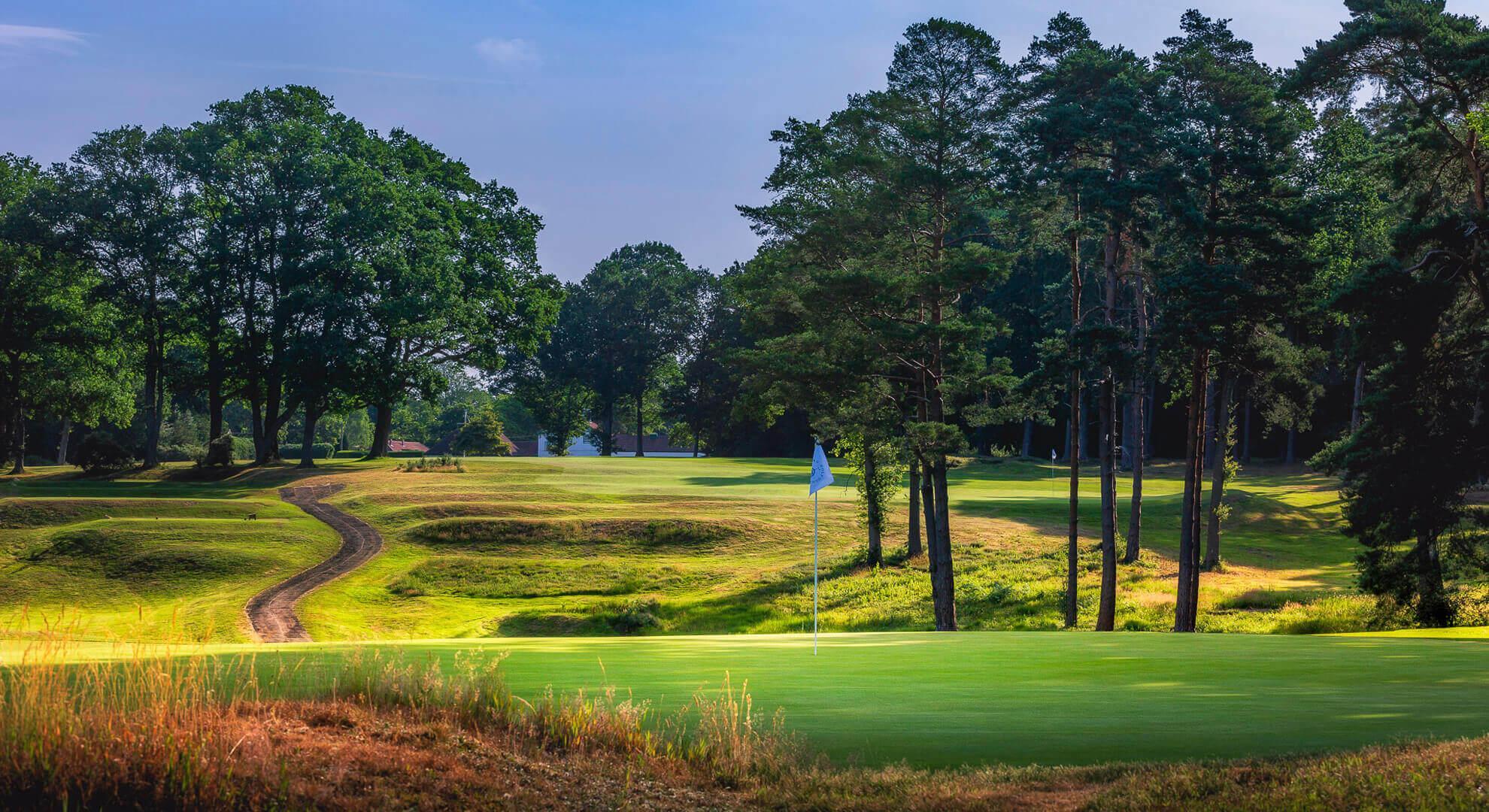 Woking Golf Course, South East England