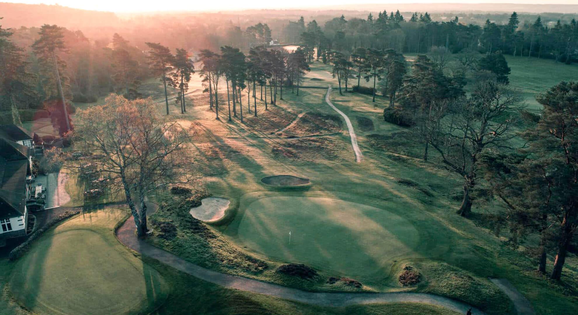 Worplesdon Golf Course, South East England