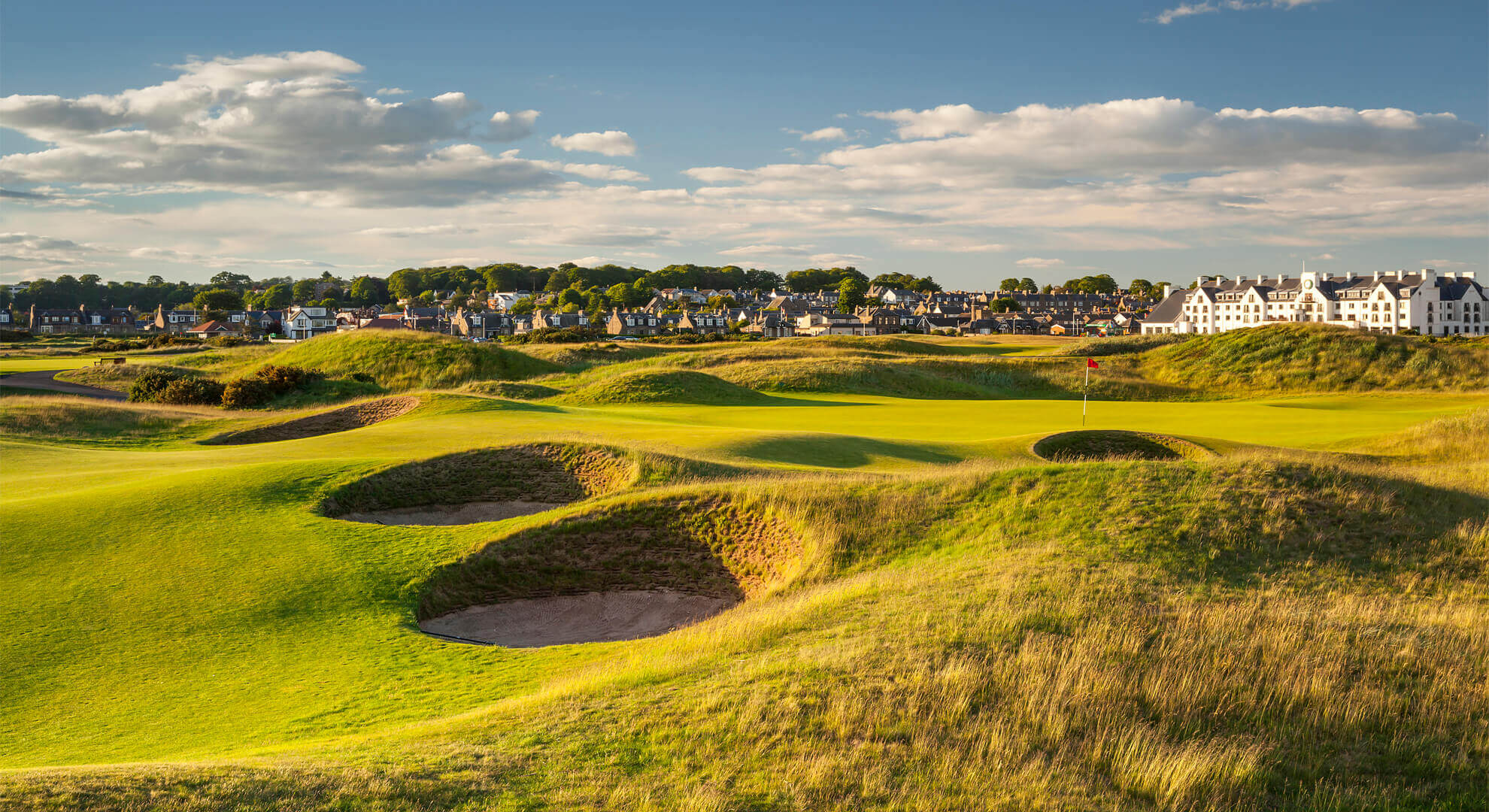 Carnoustie Golf Course, Dundee and Angus