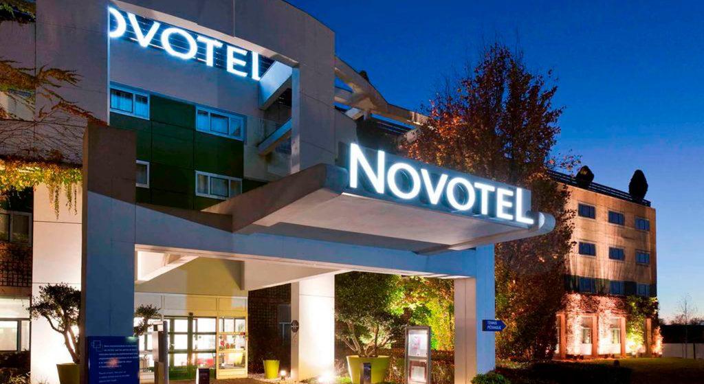 Novotel Hotel, Paris, France