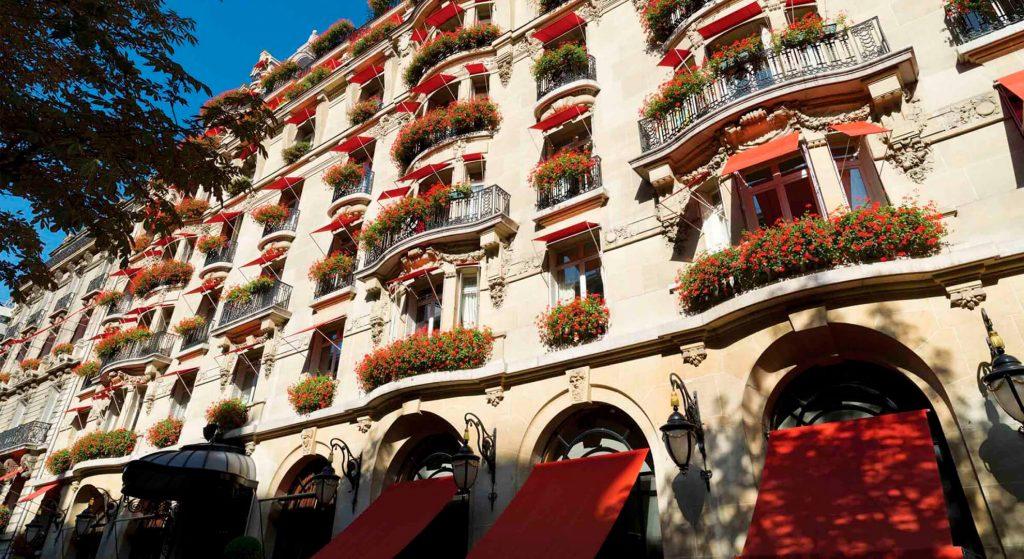 Plaza Athénée Hotel, Paris, France