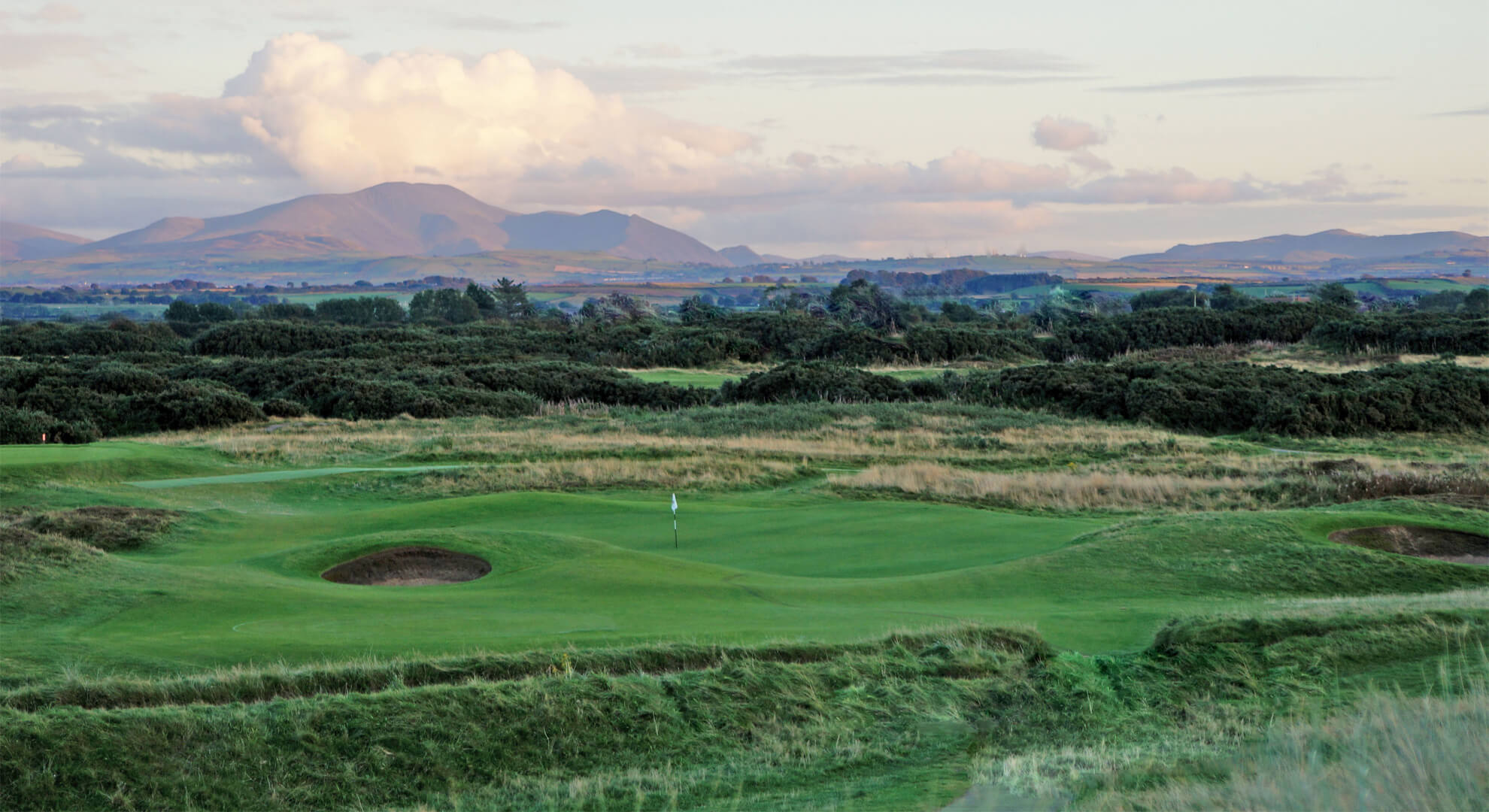 Silloth on Solway Golf Course, North East England